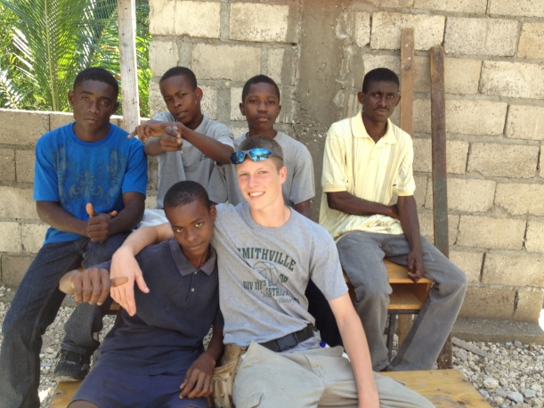 Making new friends and talking with Haitians are definitely the best part of going on teams.