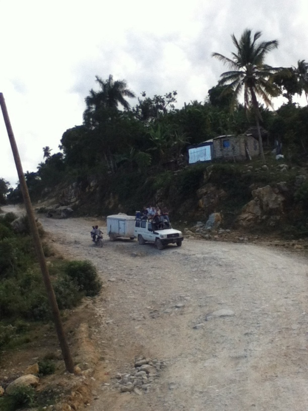Many rugged miles are covered to reach the remote villages.