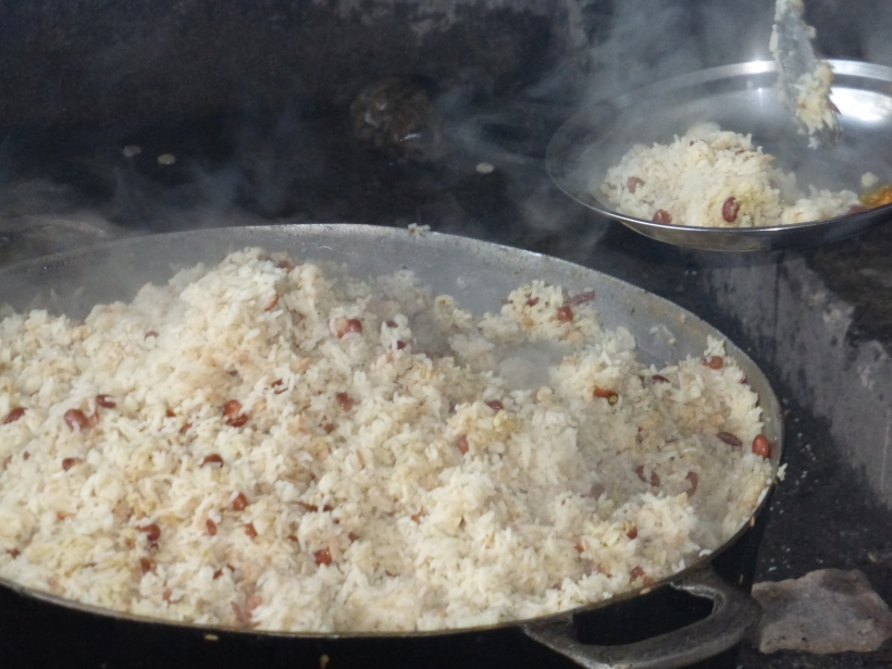 Hot and nutritious -- the ideal Haitian school lunch!