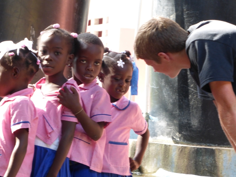 Making a few little friends!