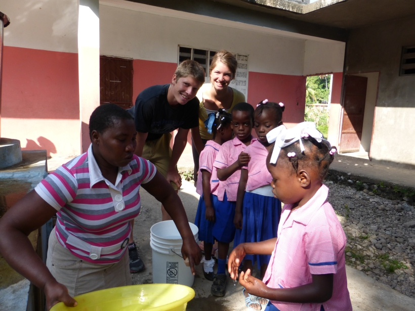 Proper hygiene before meals!