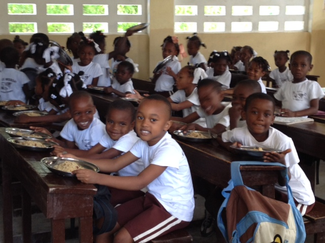 Thank you for helping us in Haiti!