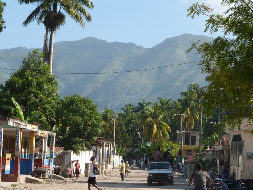 View of downtown Maniche, where we visited the market and took a few walks.
