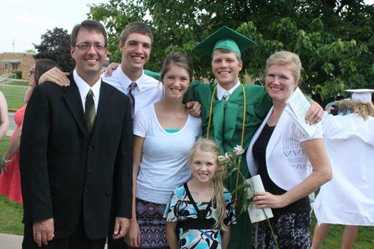 Grant's graduation, June 1st, 2014