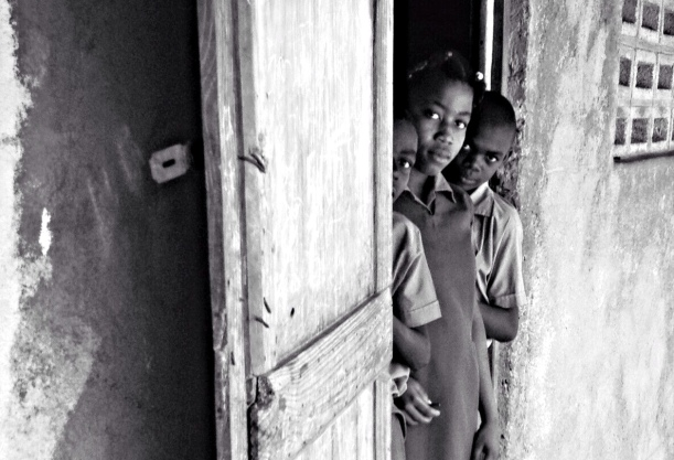 Education doesn't come easy to a Haitian family without a sponsor to help at least one of their children.