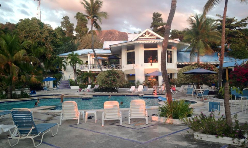 The missionary retreat is held at Kaliko Bay.