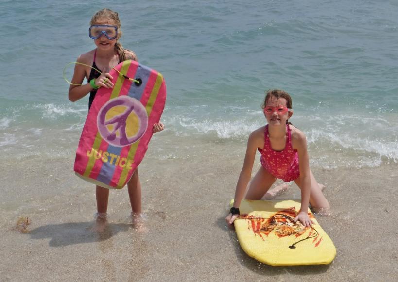 Fun at the beach is always a hit!