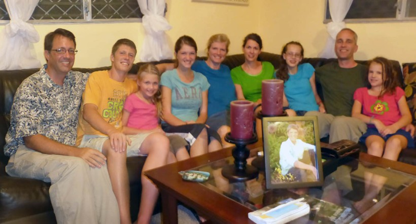 We were blessed with the visit of the Uhlers, friends from our home church in Ohio.
