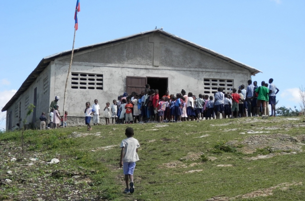 Haitian schools bring the community together.
