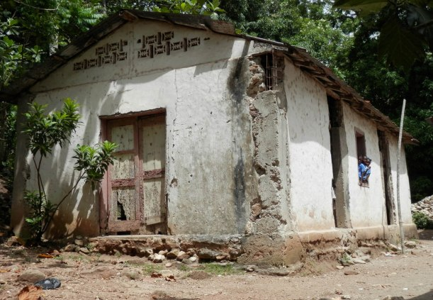 Another remote Haitian school. This one is the old church building.