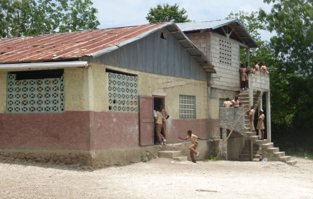 "Here is the ""Godi"" primary school."