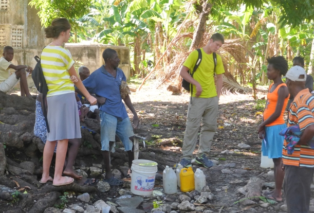 People are just everywhere in Haiti and we find so many who are interested in talking about eternity.