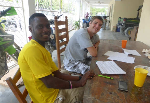Even learning Creole or teaching English is an opportunity to teach about God!