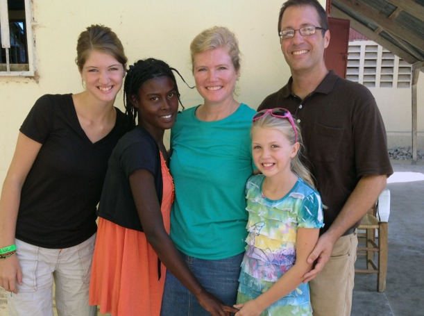 Although hot and dirty, we were blessed to spend a week of VBS with one of our sponsored kids, Mantha!