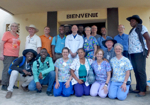 The team consisted of several doctors and nurses (and some spouses) from the States as well as Haitian