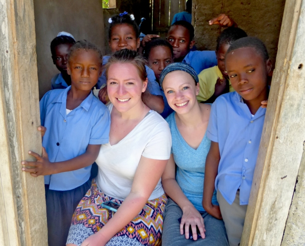Grace and Morgan dove head-first into Haiti!