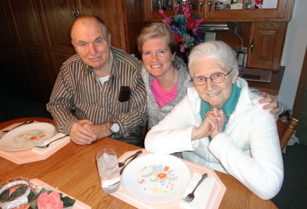 Susie recently had extended time to assist her parents in Ohio.