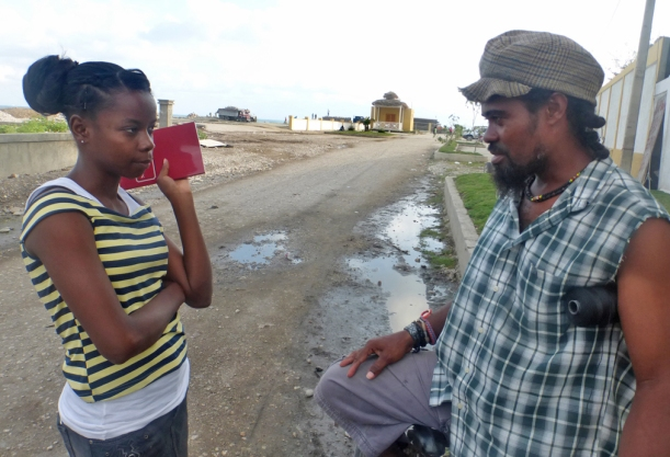 Kenfleur has a passion for reaching her neighbors and fellow Haitians with God's Word!