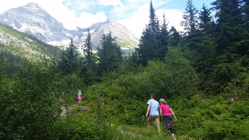 "A ""little hike"" brought great views of Glacier National Park in Canada."