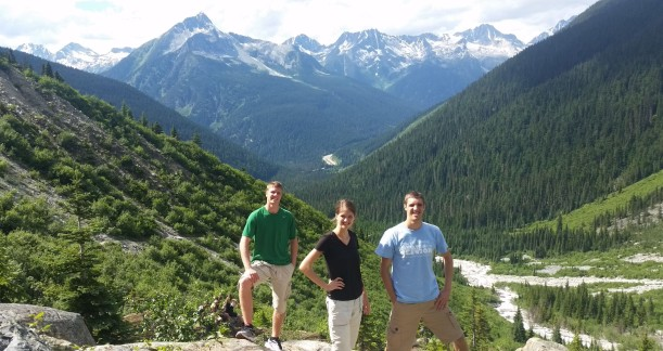 We were amazed by the size of the Canadian Rockies!