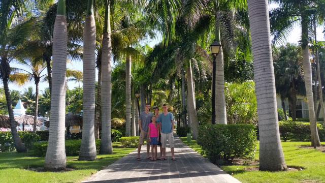Enjoying a beautiful resort in the Dominican Republic!