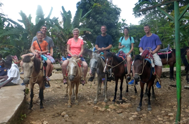 This is how you get up to the Citadelle near Cap-Haitien in northern Haiti!