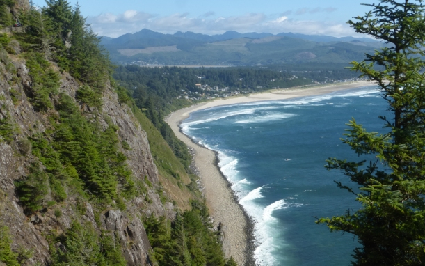 The Oregon Coast was so different than the Caribbean!