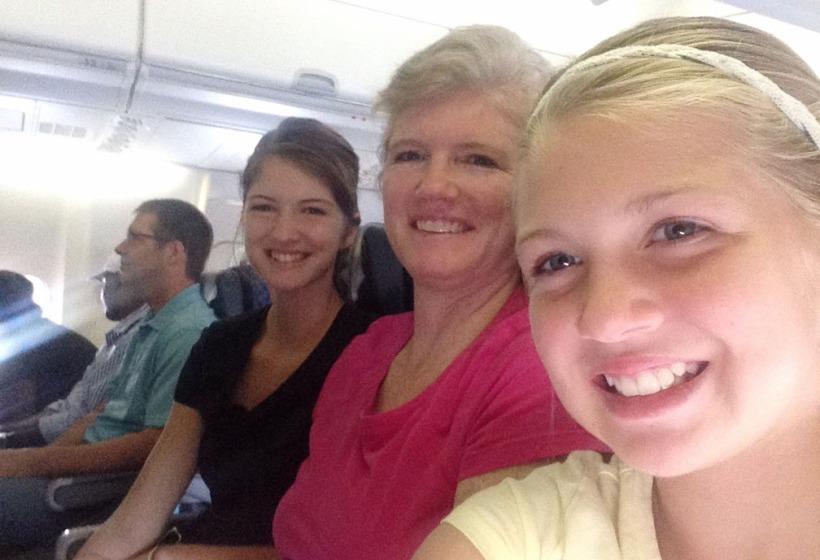 Ready smiles on the return to Haiti!