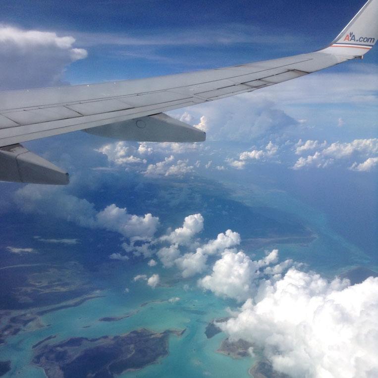 Haiti comes into view!
