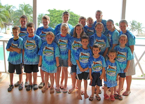 The missionary kids in Haiti (including the Hartzlers)!