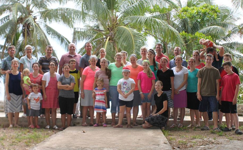 Group photo of the current Haiti missionaries!