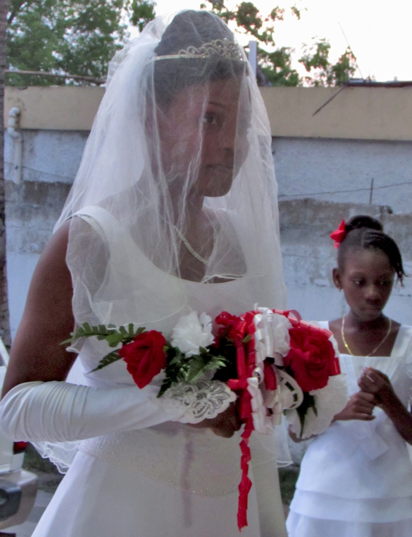 Josette, from the Child Care office, recently got married!