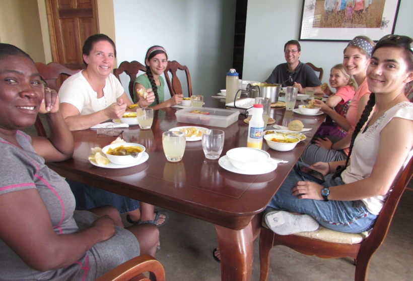"""A wonderful lunch with """"Mrs. Tim"""" and daughters!"""