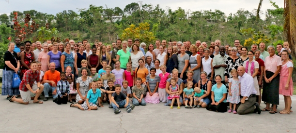 South Haiti Missionaries, Thanksgiving Day 2016!