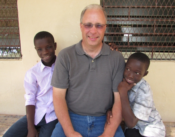 Mike's brother, Steve, visited us a week over Christmas! He enjoyed meeting kids he sponsors!