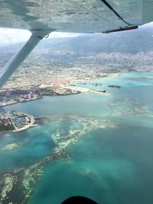 What a trip flying from Cayes to Port-au-Prince!